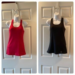 Under Armour Racerback tanks. 2 pack